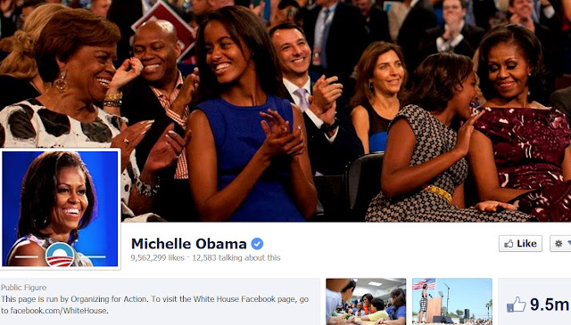 Michelle Obama on FB