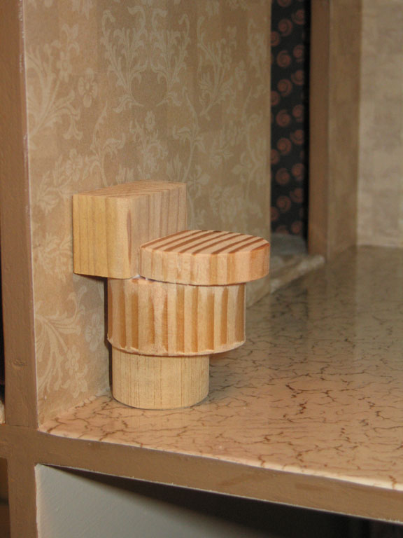 Dollhouse Decorating How To Make Some Basic Homemade Wooden Dollhouse Bathroom Furniture