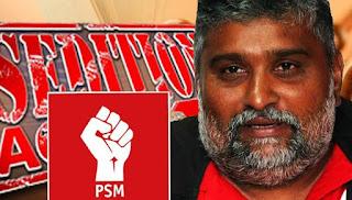 Arul PSM didakwa menghasut