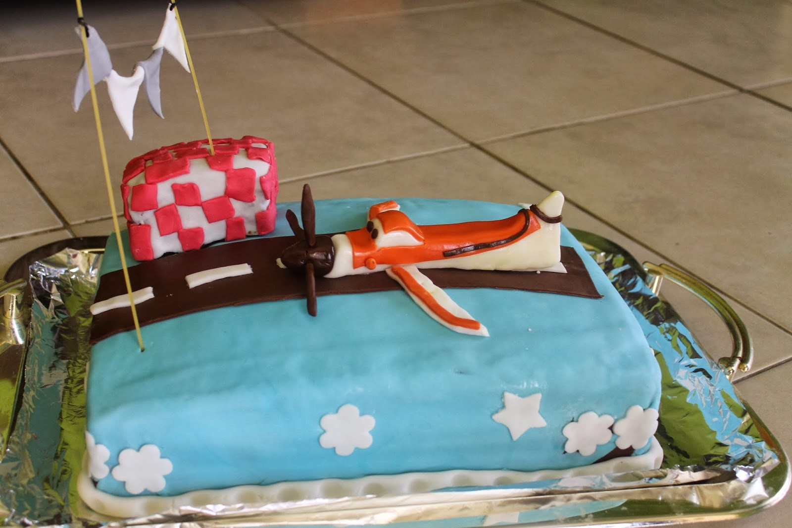 My Kitchen Treasure Disney Planes Dusty Chopper Cake