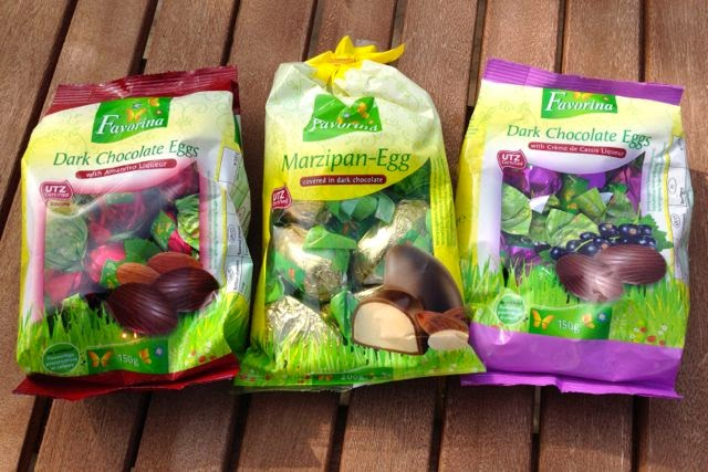 Lidl - Favorina Mini Chocolate Eggs - Vegan