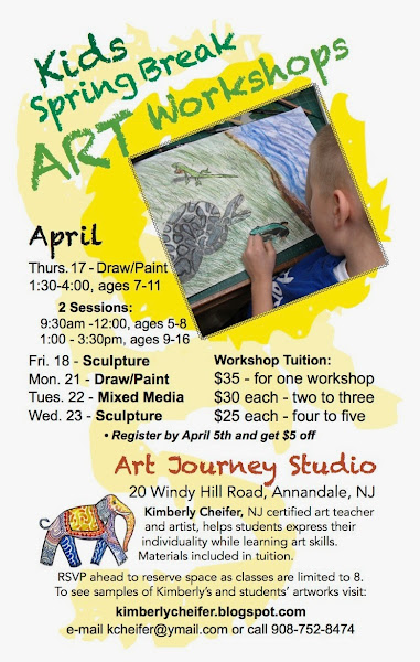 Art Classes in Clinton, NJ area