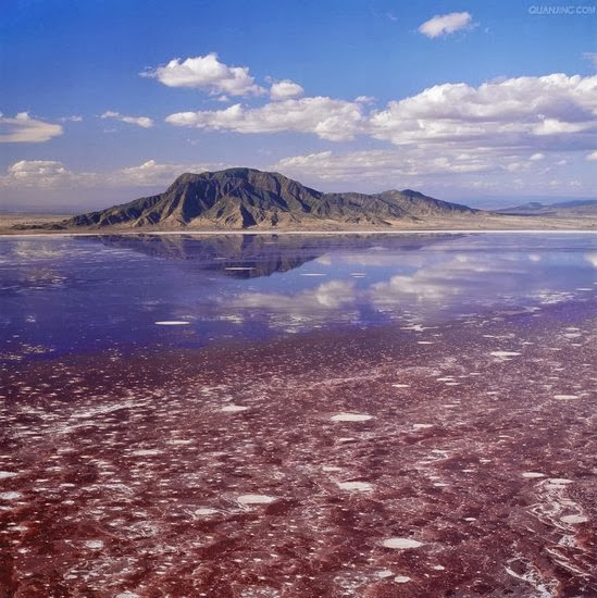 Red Lake Natron,Tanzania: