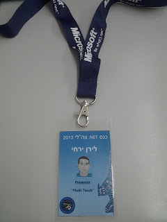 My presenter tag :)