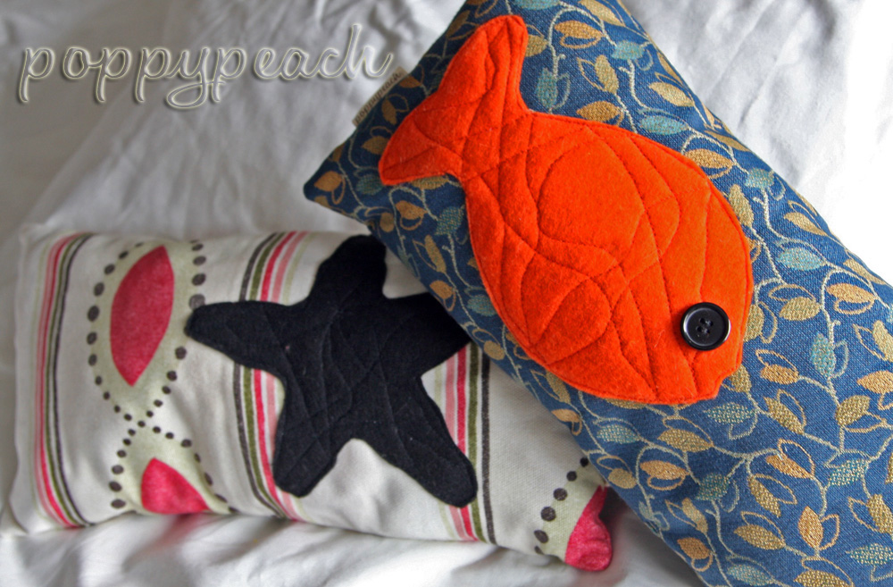 poppypeach pillows on Etsy