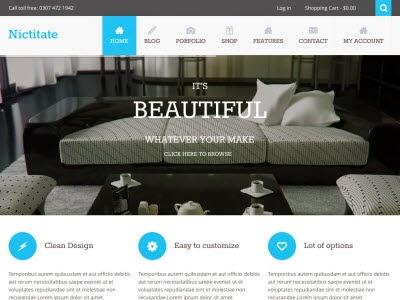 Nictitate WordPress Theme