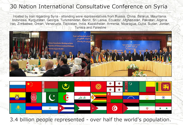 The Syrian Government is Not Isolated IranHosted30NationConferenceOnSyria