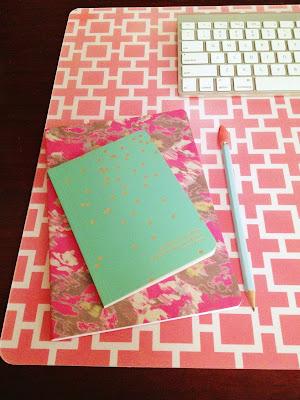 custom desk pad a little tipsy. Black Bedroom Furniture Sets. Home Design Ideas