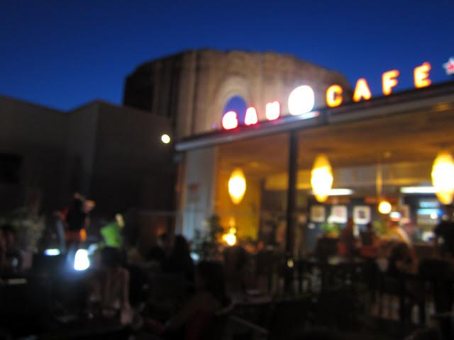 Terraza Gaudeamus Café.