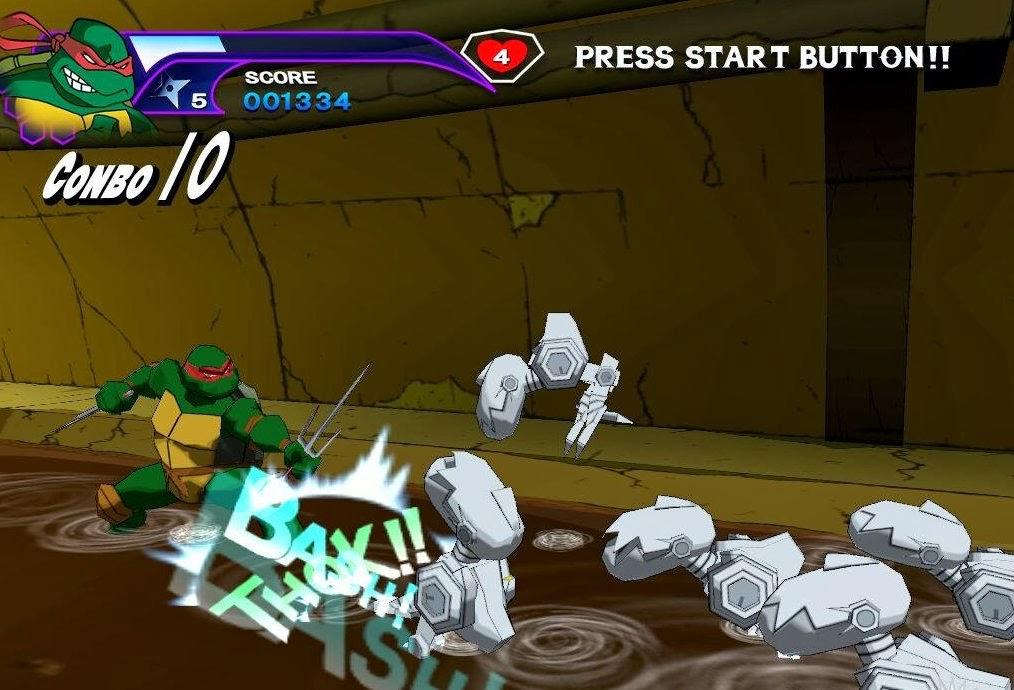 لعبة الاكشن والمغامرات Teenage Mutant Ninjaلعبة الاكشن والمغامرات Teenage Mutant Ninja مضغوطة بحجم 100MB