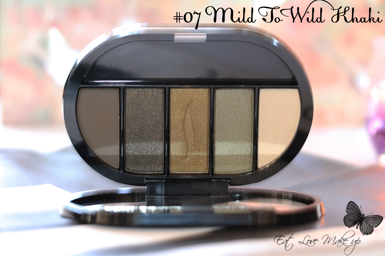 Sephora Colorful 5 Eyeshadow Palette Mild To Wild Khaki