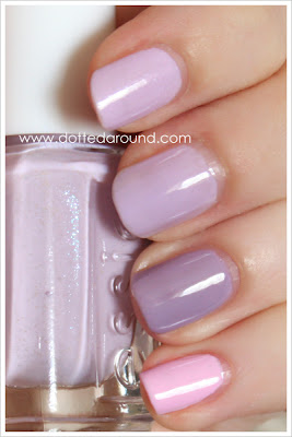 Essie Spring 2012 to buy or not to buy swatches nail polish swatch comparison Essence Nice is Nice French Affair