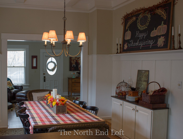 The North End Loft: Chandelier Shades