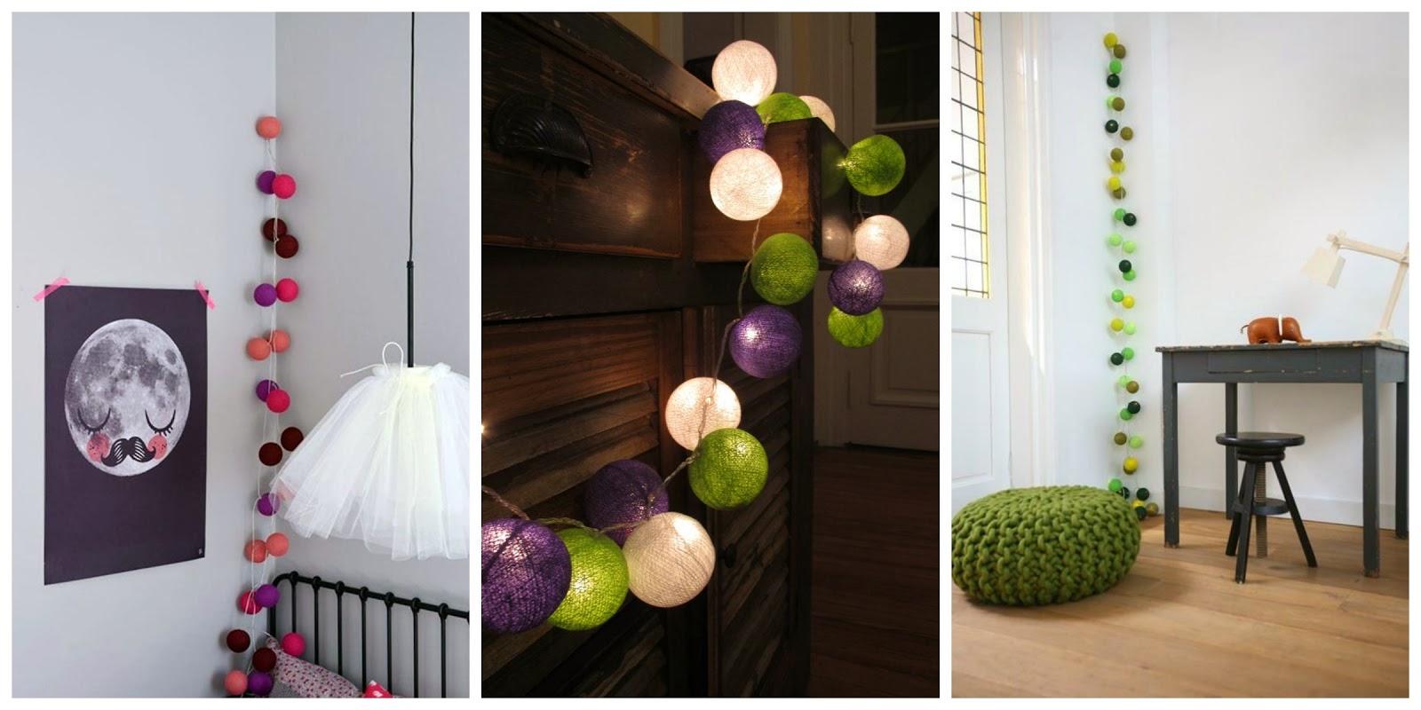 Kilika hecho a mano diy guirnaldas de luces hechas a mano - Guirnaldas de luces ...