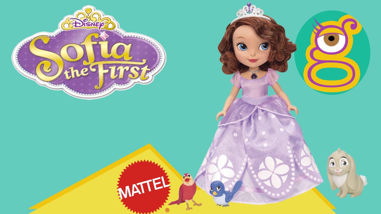 Muñeca Princesa Sofía y animalitos parlanchines de Mattel en tremendinggirls