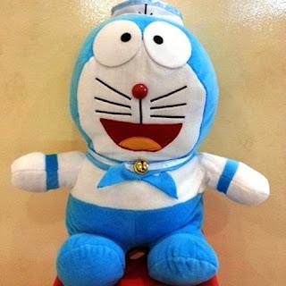 Boneka doraemon sailor jumbo