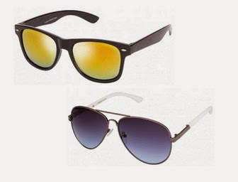 Lenskart: Buy UV Protection, Light Weight,Stainless Steel Sunglasses at Rs. 249