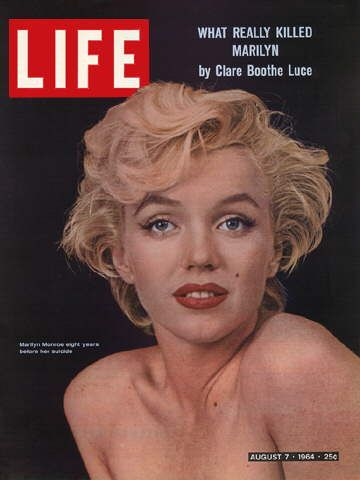 the life and work of marilyn monroe in the america