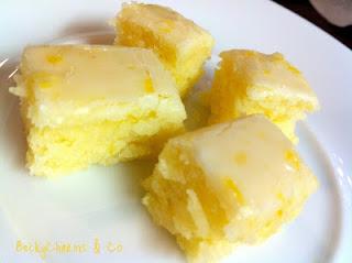 Lemony Lemon Brownies