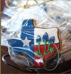 Pictures of my Texas and UT Cookies were in the 2011 spring issue of the Austin Bride Magazine!