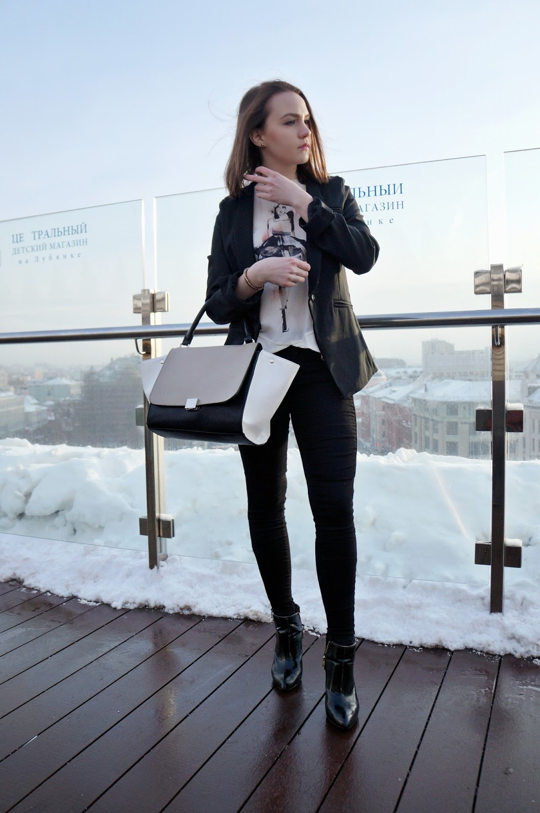 Monochrome Outfit | Fashion Blogger
