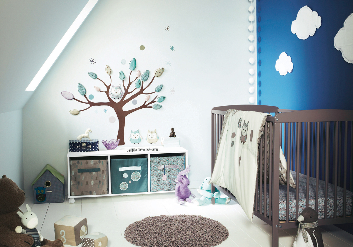 Cool baby nursery design ideas home design for Stickers chambre bebe garcon