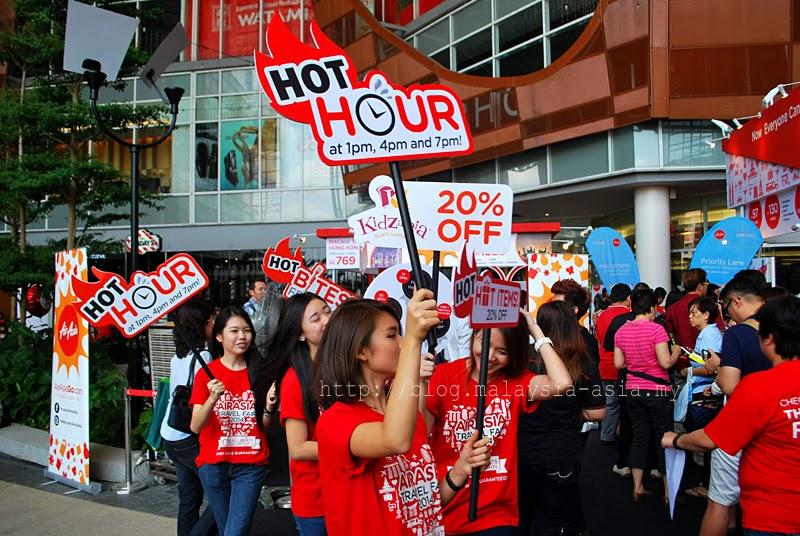 AirAsia Travel Fair Happy Hour Promotion