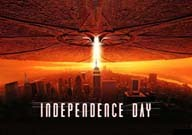 Indpendence day Movie Poster Dvd Cover