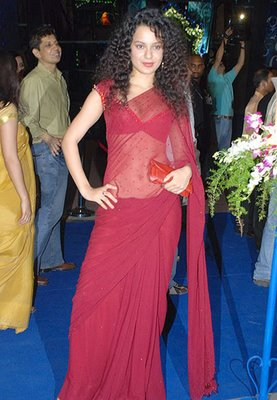 Actress Kangana Ranaut navel Show Photos/></a> <a href=