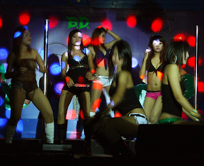 go-go dancer at phuket