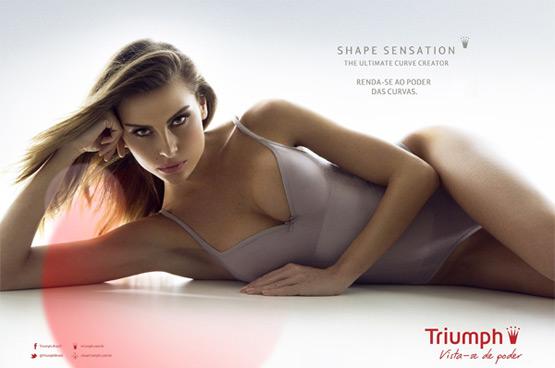 Triumph Shape Sensation Brasil comprar