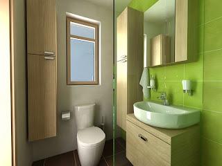 model desain kamar mandi sederhana modern | model rumah modern