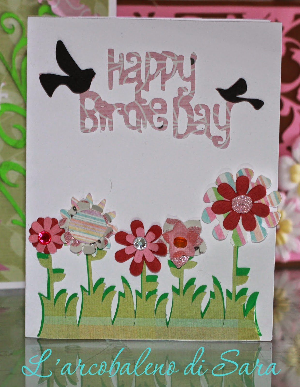 happie birdie day card