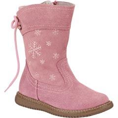 Bota rosa material piel modelo 4912