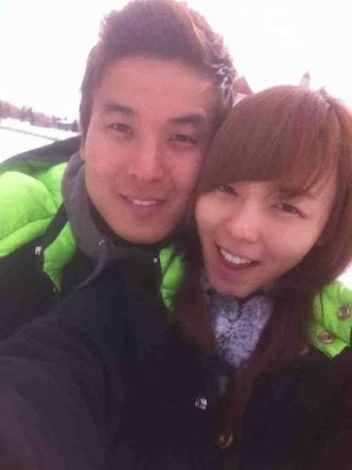 Sun Ye and Boyfriend