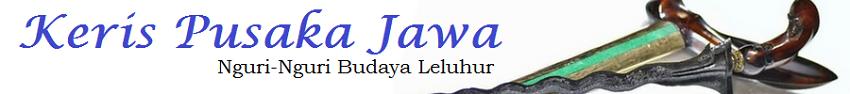 Keris Pusaka Jawa