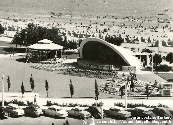 Royan - L'auditorium du front de mer  Architecte: Marcel Canellas  Construction: 1961