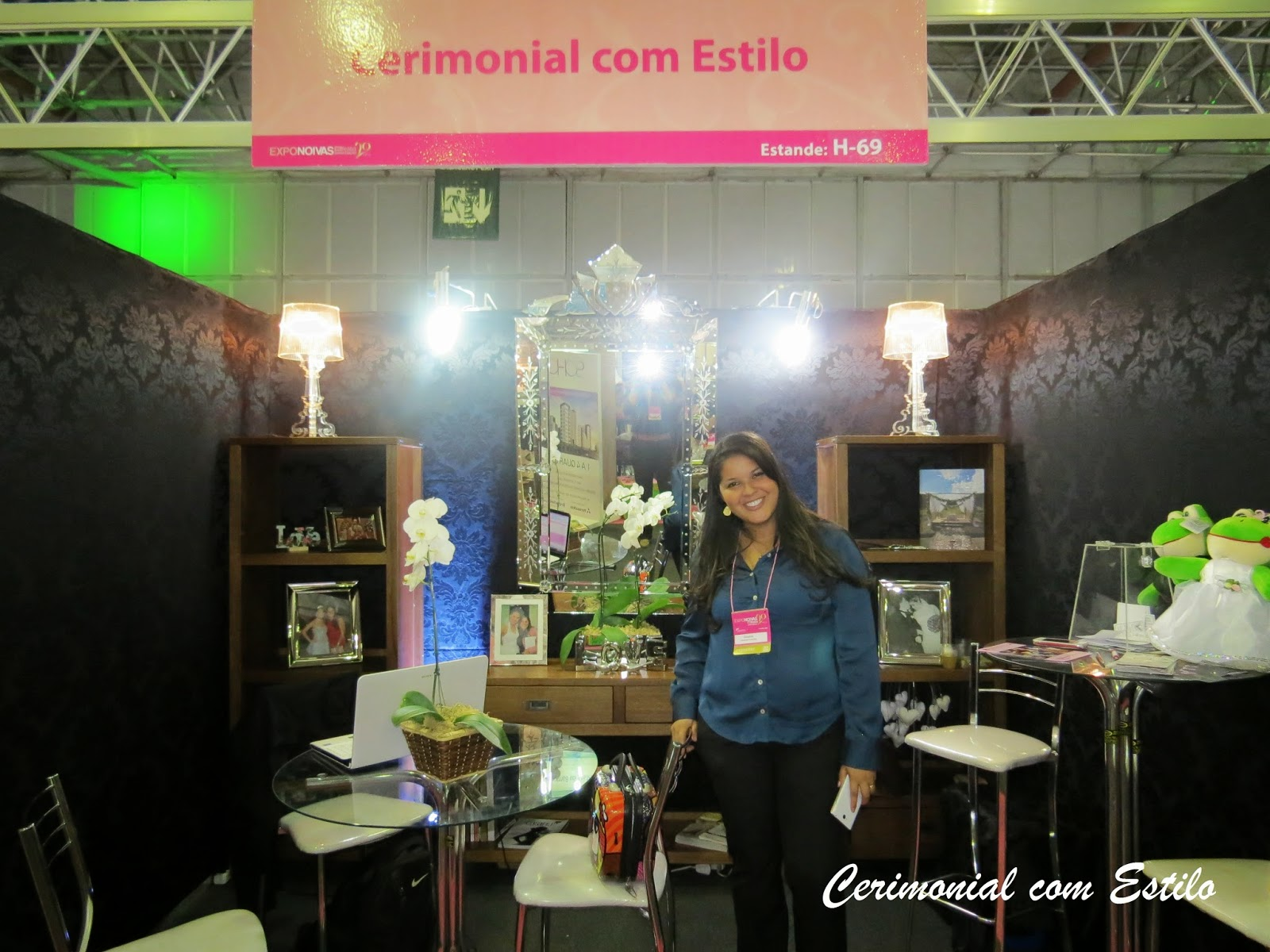 Expo Noivas Stands : Cerimonial com estilo expo noivas rj