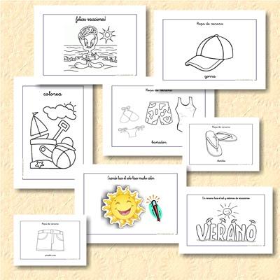 http://www.escuelaenlanube.com/fichas-de-infantil-y-primaria-el-verano/