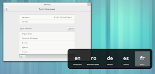 GNOME Shell language switcher OSD