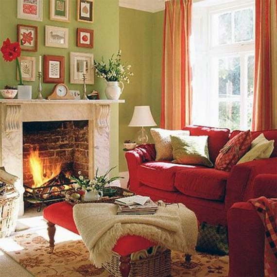 Warm And Cozy Living Room Decoration Ideas