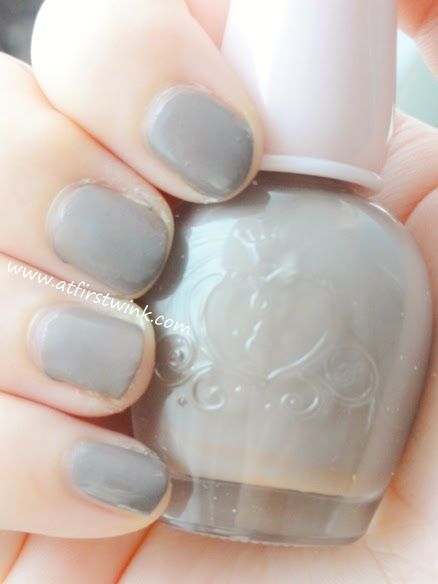 Etude House nail polish DBR404 - Ground brown