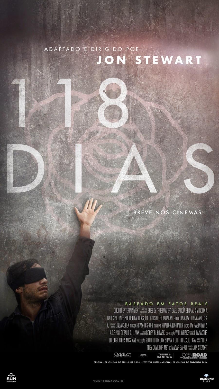 Pôster/capa/cartaz nacional de 118 DIAS (Rosewater)