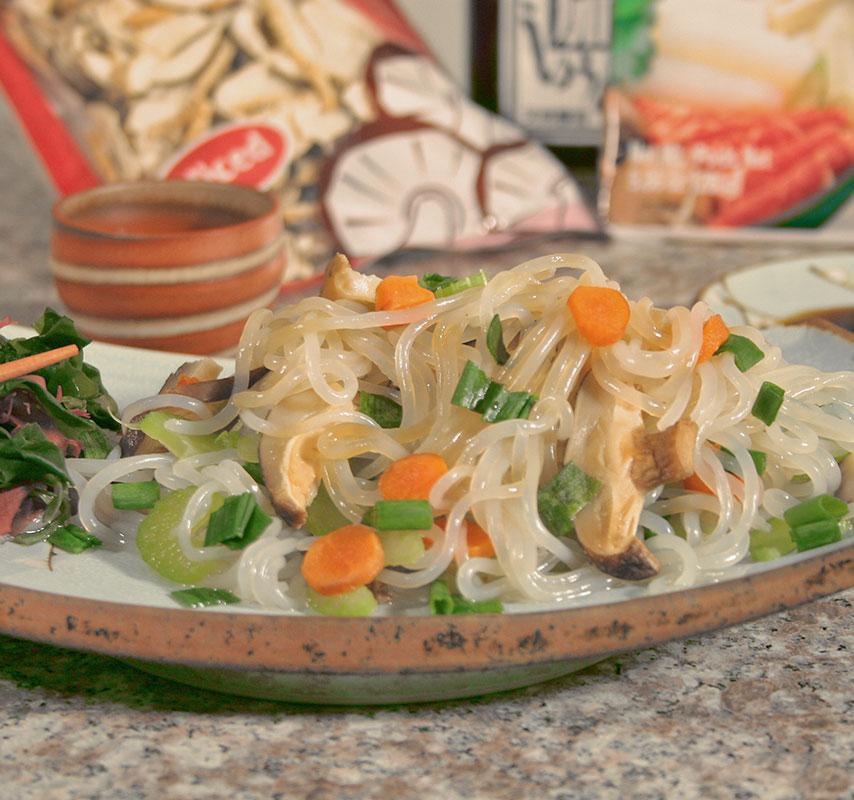 Yam noodles shirataki