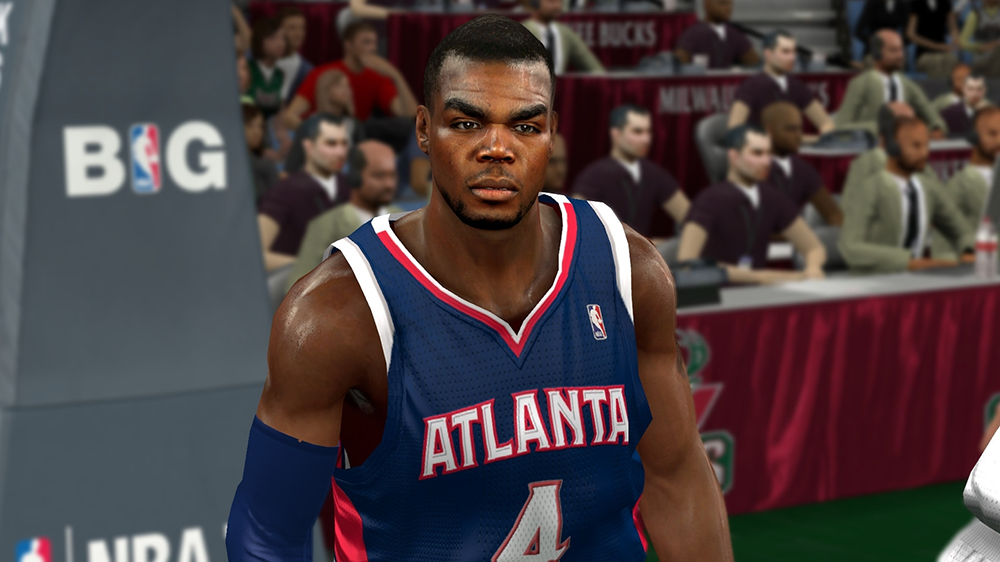 NBA2K Paul Millsap Cyberface Patch