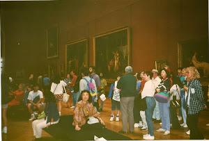 1992.9,法国巴黎罗浮宫。