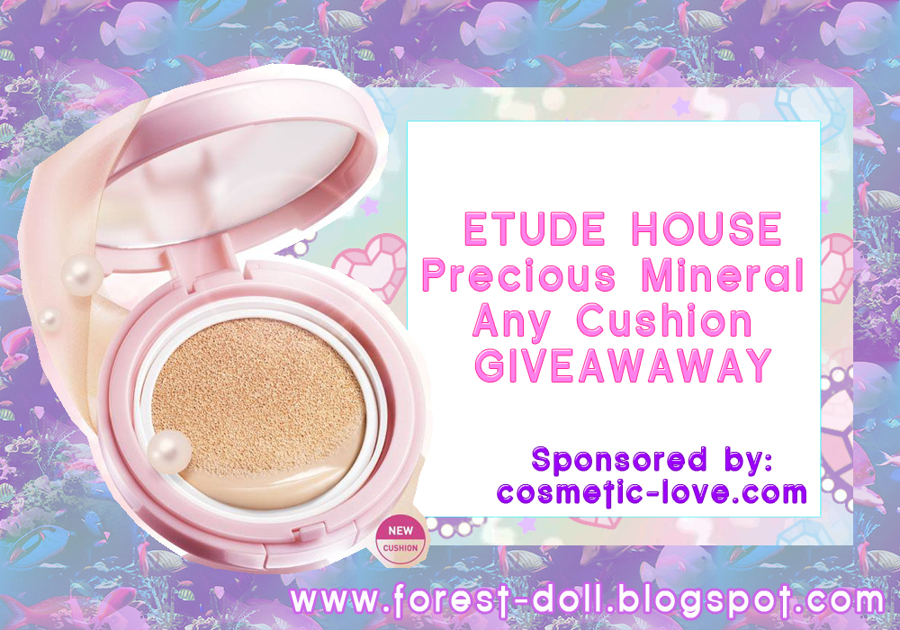 Forestdoll Etude House Giveaway