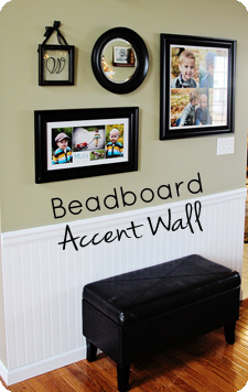 Beadboard Accent Wall
