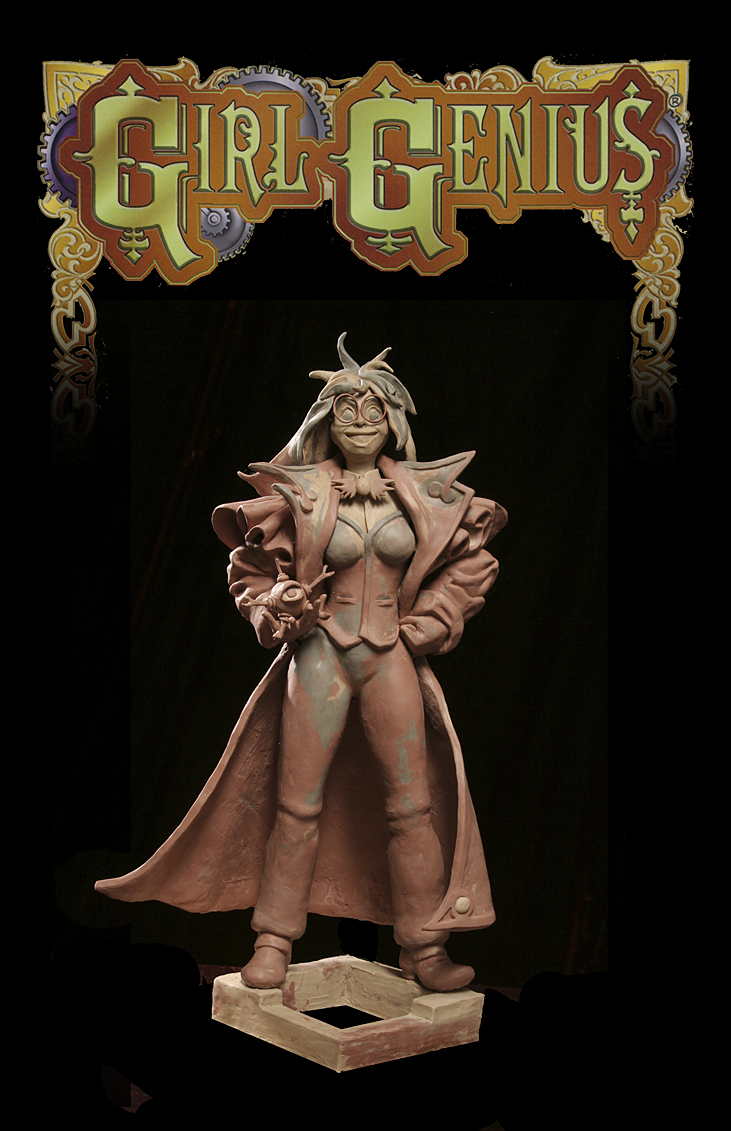 Robert John Guttke Sculpture: Organic Male, Trellis Female