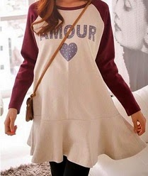 NBH0327 AMOUR BLOUSE (MATERNITY FRIENDLY)